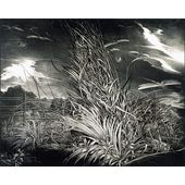Birutė Stančikaitė Against the Wind. Lithography, 1980, 48,5x59,5cm